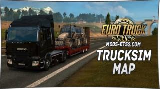 Trucksim Map